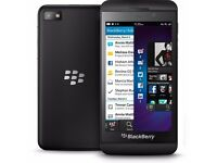 blackberry z10 black unlocked