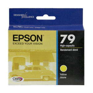 Epson 79 Yellow Ink Cartridge T079420 Genuine (2 Available)