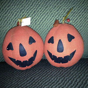 PLUSH PUMPKINS • NEW • Halloween Party Decor Fall Thanksgiving