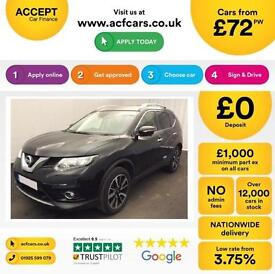 Nissan X-Trail FROM £72 PER WEEK!