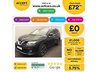 NISSAN X-TRAIL 1.6 DCI 130 N-TEC 7 SEAT TEKNA FROM £72 PER WEEK!
