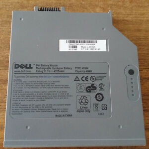 Secondary battery for Dell Latitude D620/630/820/830
