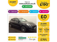 Porsche Macan FROM £190 PER WEEK!