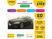 Jaguar XJ Portfolio FROM £103 PER WEEK!
