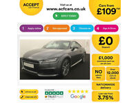 Audi TT Coupe S Line FROM £109 PER WEEK!