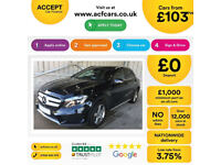 MERCEDES-BENZ GLA 200 220 D 2.1 AMG LINE EXECUTIVE 4MATIC PREMIUM £103 PER WEEK!