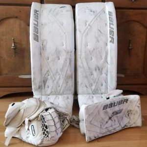 "Bauer Supreme One80 Goalie Pads & Gloves 36+1"""