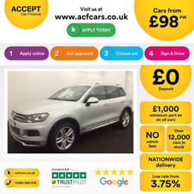 VOLKSWAGEN TOUAREG 3.0 V6 TDI 245/262 ALTITUDE R LINE ESCAPE FROM £98 PER WEEK!