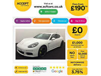 PORSCHE PANAMERA 3.0 V6 D 300 TIPTRONIC S PLATINUM EDITION FROM £185 PER WEEK!
