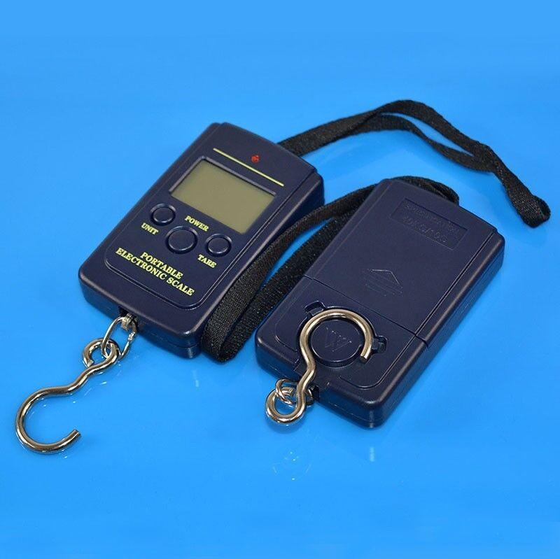 Portable Fishing Digital Weight Electronic Pocket Hanging Hook Scale 40kg/10g