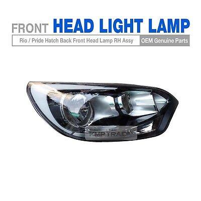 OEM Parts Front Head Light Lamp RH Assy For KIA 2012-2017 Rio Hatch Back 5Door
