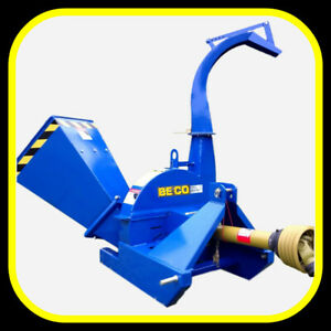 """4"""" x 10"""" capacity PTO WOOD CHIPPER, for 16-60hp, IN STOCK"""