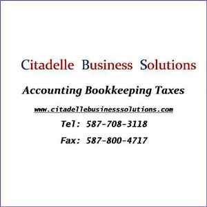 BOOKKEEPING AND INCOME TAXES Edmonton Edmonton Area image 1