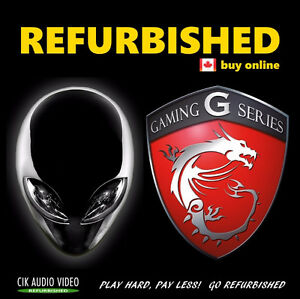 Refurbished Alienware MSI Asus Rog XPS Gamer Aurora i7 laptop 1