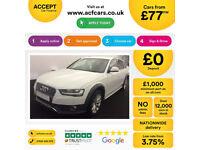 White AUDI A4 AVANT ESTATE 1.8 2.0 TDI DieselS LINE QUATTRO FROM £77 PER WEEK!