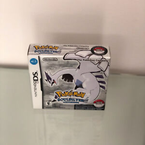 Made In Japan Pokemon SoulSilver Nintendo DS Video Game