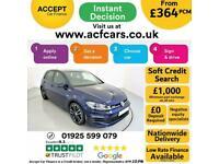 2018 BLUE VW GOLF 2.0 TDI 184 GTD DSG 5DR AUTO HATCH CAR FINANCE FR £364 PCM