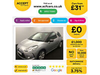 CITROEN DS3 DSTYLE DSPORT PLUS DSIGN  ULTRA PRESTIGE FROM £31 PER WEEK!