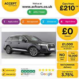Audi Q7 quattro S Line FROM £230 PER WEEK!