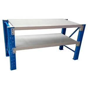 1.2X0.9M Steel Garage Warehouse Rack Shelves Shelving Work Bench Revesby Bankstown Area Preview