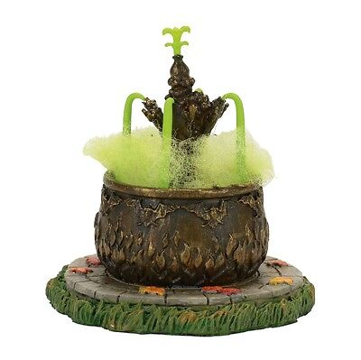 """Department 56 Halloween """"TOAD FOUNTAIN"""" New 2017 FREE SHIPPING"""