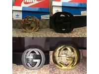 Gucci LV Hermes Belts