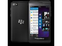 Black blackberry smartphone in black silicone cover - REWARD, NO QUESTIONS