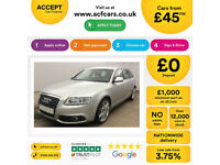 Audi A6 S Line Special Edition FROM £46 PER WEEK!