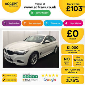 BMW 320 M Sport GT FROM £103 PER WEEK!