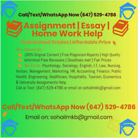 We help you write custom Assignment and Essays at Cheap rates