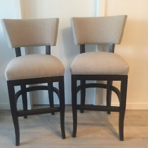 Deal! Luxury stools! 2 for 200$