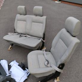 VW transporter rear seats