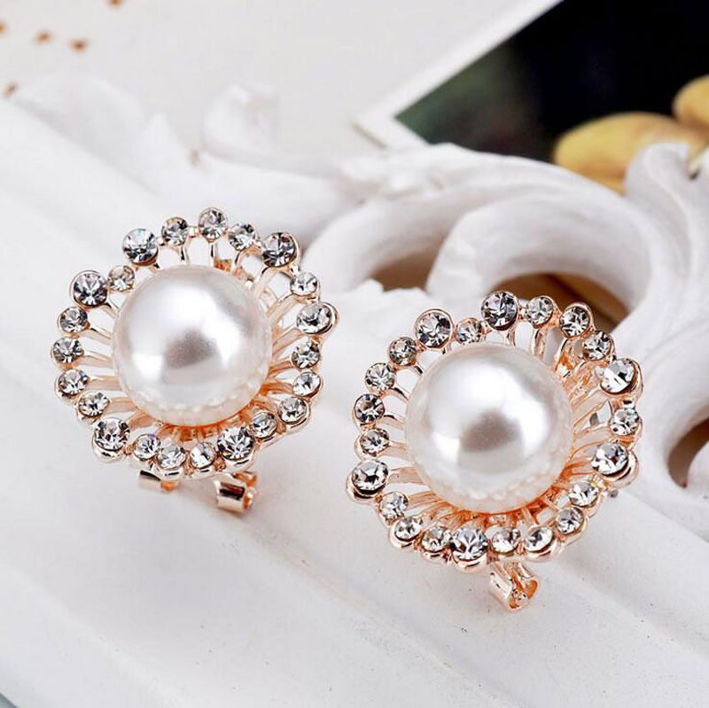Pearl Crystal Flower