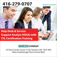 Help Desk & Service Support Analyst with ITIL Certification Trai