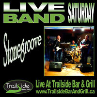 Live Band Saturday - Stonegroove at Trailside Ridgeway