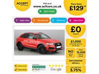Red AUDI Q3 4X4 1.6 1.8 2.0 TDI Diesel QUATTRO CLACK EDITION FROM £129 PER WEEK!