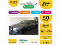 Audi A5 Black Edition PLUS FROM £77 PER WEEK!