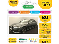 Audi A6 Avant Black Edition FROM £103 PER WEEK!