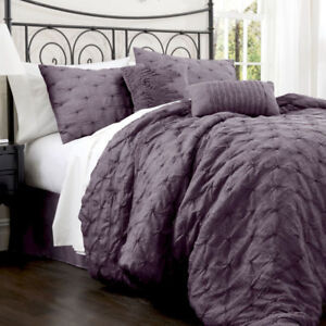 Lake Como 4pc Comforter Set - King NEW