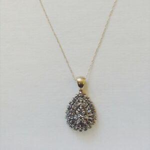 Beautiful Diamond Pendant Necklace
