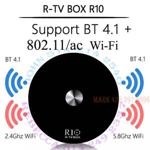 R10 Android 9.0 TV Box w. Powerful Dual Band <<802.11ac Wi-Fi>>