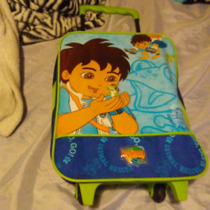 Diego suitcase for toddlers