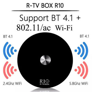 R 10 Android 8.1 TV Box - Dual Band Wi-Fi, Bluetooth,USB 3.0...