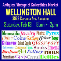 Antiques, Vintage & Collectibles ~ This Saturday, Feb 13.