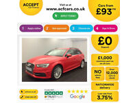 Audi A3 FROM £93 PER WEEK!