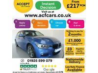 2013 BLUE BMW 330D 3.0 XDRIVE M SPORT DIESEL AUTO SALOON CAR FINANCE FR £217 PCM