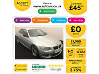 BMW 318 FROM £45 PER WEEK!