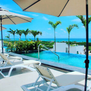 ULTRA LUXURY STUDIO WITH OCEAN VIEW BALCONY IN PLAYA DEL CARMEN!