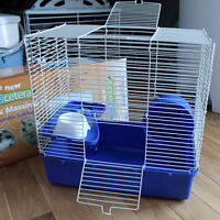 NEW HAMSTER 2-LEVEL CAGE