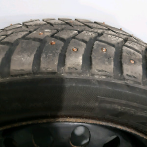 1 Winter Tire on Rim